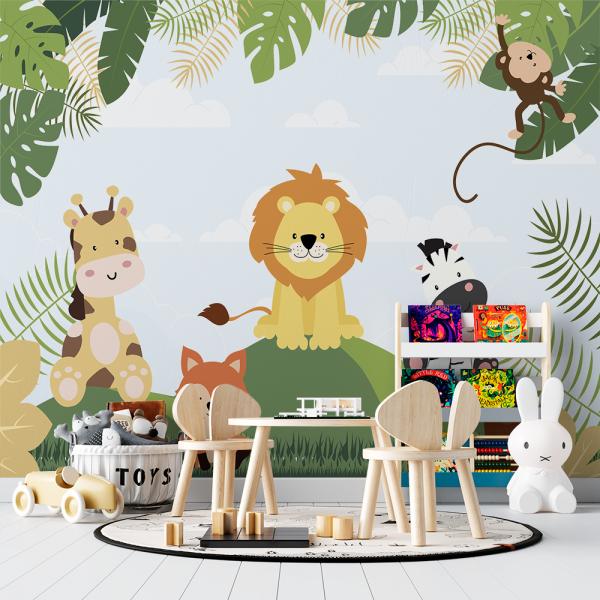 Papel De Parede - Safari Mod. 2