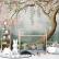 Papel De Parede - Árvore com flores de salgueiro