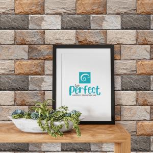 Papel De Parede - azulejos de cerâmica Vinil 0,010mm - Autocolante Sob medida - Padrão Impressão Digital Fosco - Liso Divididos em Rolos de 50cm Todas as Imagens são MERAMENTE ILUSTRATIVAS.