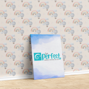 Papel De Parede - digital Boho Baby Nursery Mod. 3 Vinil 0,010mm - Autocolante Sob medida - Padrão Impressão Digital - Fosco - Divididos em Rolos de 50cm - Todas as Imagens são MERAMENTE ILUSTRATIVAS.