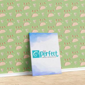 Papel De Parede - Fiesta digital paper pack Mod.5 Vinil 0,010mm - Autocolante Sob medida - Padrão Impressão Digital - Fosco - Divididos em Rolos de 50cm - Todas as Imagens são MERAMENTE ILUSTRATIVAS.