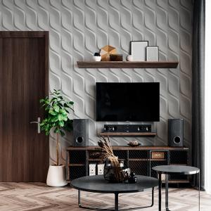 Papel De Parede - futurista 3D angular de concreto branco Vinil 0,010mm - Autocolante Sob medida - Padrão Impressão Digital Fosco - Liso Divididos em Rolos de 50cm Todas as Imagens são MERAMENTE ILUSTRATIVAS.