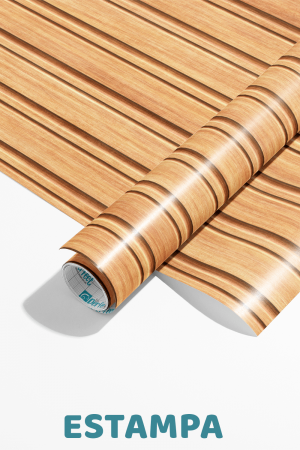 Papel De Parede - listras horizontais esculpidas na madeira - ilustração 3D Vinil 0,010mm - Autocolante Sob medida - Padrão Impressão Digital Fosco - Liso Divididos em Rolos de 50cm Todas as Imagens são MERAMENTE ILUSTRATIVAS.