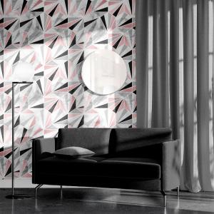 Papel De Parede - mármore e rosa dourado mod. 02 Vinil 0,010mm - Autocolante Sob medida - Painel Impressão Digital - Todas as Imagens são MERAMENTE ILUSTRATIVAS. Fosco - Divididos em Rolos de 50cm - Criação da Designer Karamfilas da Academia de Artes da Bulgária