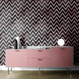 Papel De Parede - mármore e rosa dourado mod. 05 Vinil 0,010mm - Autocolante Sob medida - Painel Impressão Digital - Todas as Imagens são MERAMENTE ILUSTRATIVAS. Fosco - Divididos em Rolos de 50cm - Criação da Designer Karamfilas da Academia de Artes da Bulgária