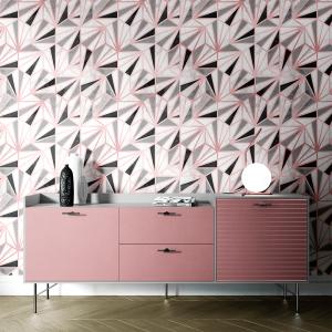 Papel De Parede - mármore e rosa dourado mod. 14 Vinil 0,010mm - Autocolante Sob medida - Painel Impressão Digital - Todas as Imagens são MERAMENTE ILUSTRATIVAS. Fosco - Divididos em Rolos de 50cm - Criação da Designer Karamfilas da Academia de Artes da Bulgária