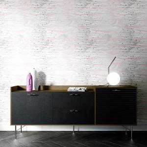 Papel De Parede - mármore e rosa dourado mod. 24 Vinil 0,010mm - Autocolante Sob medida - Painel Impressão Digital - Todas as Imagens são MERAMENTE ILUSTRATIVAS. Fosco - Divididos em Rolos de 50cm - Criação da Designer Karamfilas da Academia de Artes da Bulgária
