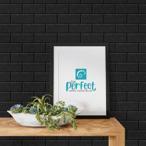 Papel De Parede - parede perfeitamente preto Vinil 0,010mm - Autocolante Sob medida - Padrão Impressão Digital Fosco - Liso Divididos em Rolos de 50cm Todas as Imagens são MERAMENTE ILUSTRATIVAS.