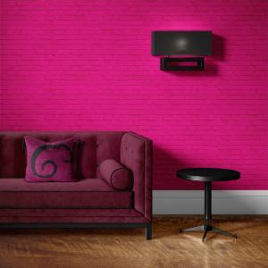 Papel De Parede - tijolos colorido mod. 01 Vinil 0,010mm - Sob medida - Padrão Impressão Digital - Fosco - Divididos em Rolos de 50cm - Todas as Imagens são MERAMENTE ILUSTRATIVAS.