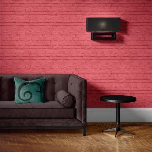 Papel De Parede - tijolos colorido mod. 10 Vinil 0,010mm - Sob medida - Padrão Impressão Digital - Fosco - Divididos em Rolos de 50cm - Todas as Imagens são MERAMENTE ILUSTRATIVAS.