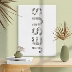 Quadro Jesus é o nome Moldura Madeira de Reflorestamento - Fundo em Madeira 100% MDF 3mm  Impressão Digital Quadro de Moldura Com Vidro Com Ou Sem Moldura Vinil Texturizado